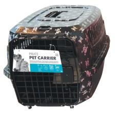 Pet Carrier - Kedi Köpek Taşıma Çantası Kuru Kafa Desenli 58*40*26,5 Max 11 KG