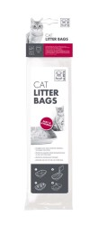 M Pets - Kedi Kum Kabı Poşeti Şeritli 10 Lu 60*45