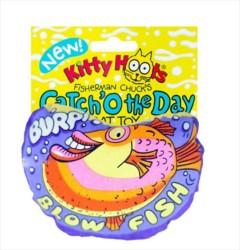 Kitty Hoots - Kitty Hoots Blow Fish Kedi Oyuncağı