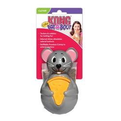 Kong - Kong Kedi Oyuncak, Bat-A-Bout Fare, Kediotlu 13cm