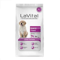 La Vital - La Vital Büyük Irk Kuzu Etli Yavru Köpek Maması 3 KG