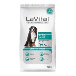 La Vital - La Vital Büyük Irk Somonlu Köpek Maması 12 KG