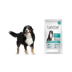 La Vital Büyük Irk Somonlu Köpek Maması 12 KG - Thumbnail