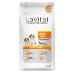 La Vital - La Vital Küçük Irk Kuzu Etli Yavru Köpek Maması 2 KG