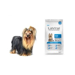La Vital Küçük Irk Somonlu Yetişkin Köpek Maması 2 KG - Thumbnail