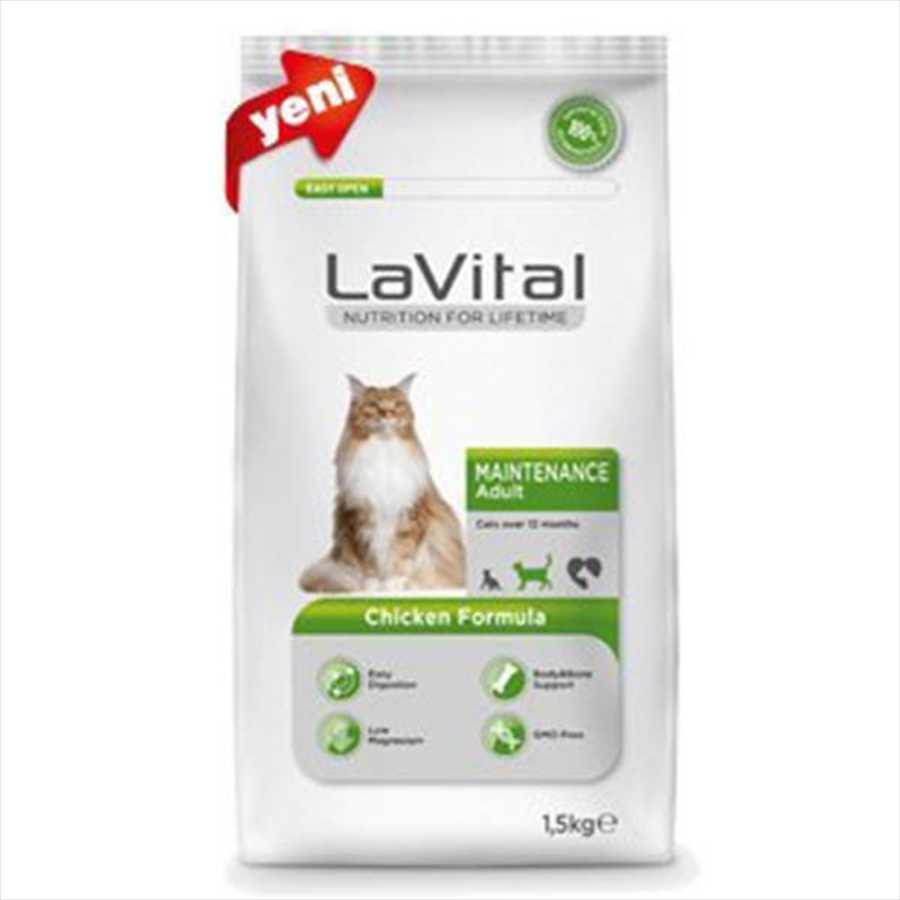 La Vital Maintenance Tavuklu Kedi Maması 1.5 KG