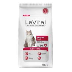 La Vital - La Vital Ördek Etli Yaşlı Kedi Maması 1.5 KG