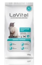 La Vital - La Vital Somonlu Kedi Maması 12 KG