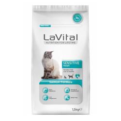 La Vital - La Vital Somonlu Kedi Maması 1.5 KG