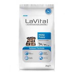 La Vital - La Vital Somonlu Küçük Irk Yavru Köpek Maması 2 KG