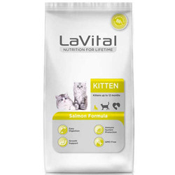 La Vital - La Vital Somonlu Yavru Kedi Maması 1.5 KG + 500 Gr