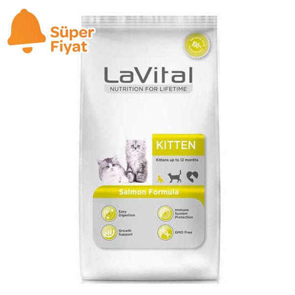 La Vital Somonlu Yavru Kedi Maması 1.5 KG