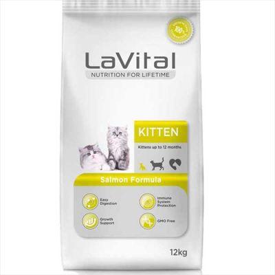 La Vital Somonlu Yavru Kedi Maması 12 KG