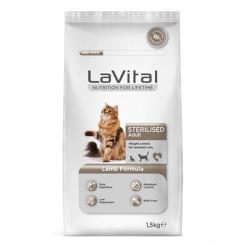 La Vital - La Vital Steril Kuzu Etli Kısırlaştırılmış Kedi Maması 1.5 KG
