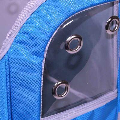 Leon Pet Şeffaf Sırt Çantası Mavi