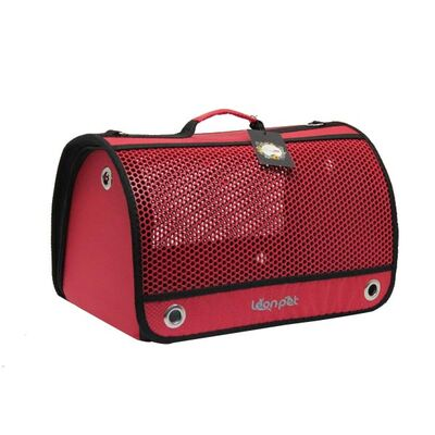 Leon Pet Air Box Çanta Kırmızı
