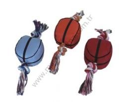 Lion - Lion Basketbol Topu Şeklinde Diş İpi Oyuncağı