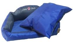 Lion - Lion Katlanabilir Yastıklı Yatak (Lacivert-Small )