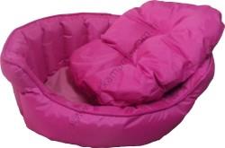 Lion - Lion Katlanabilir Yastıklı Yatak (Pembe - LARGE)