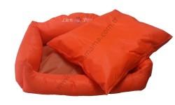Lion - Lion Katlanabilir Yastıklı Yatak (Turuncu-XLARGE)