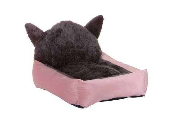 Lion Kedi Başlı Kedi Yatağı