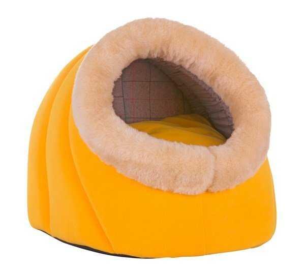 Lion Kedi Yatağı Oval Girişli