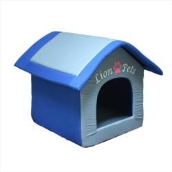 Lion - Lion Pets Çatılı Kedi ve Köpek Yatağı 53*48*50 CM