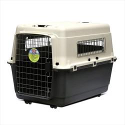 Lion - Lion Tekerlekli Köpek Taşıma Kafesi Large