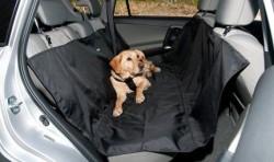 LionPet Köpekler İçin Araç İçi Arka Koltuk Koruma Örtüsü - Thumbnail