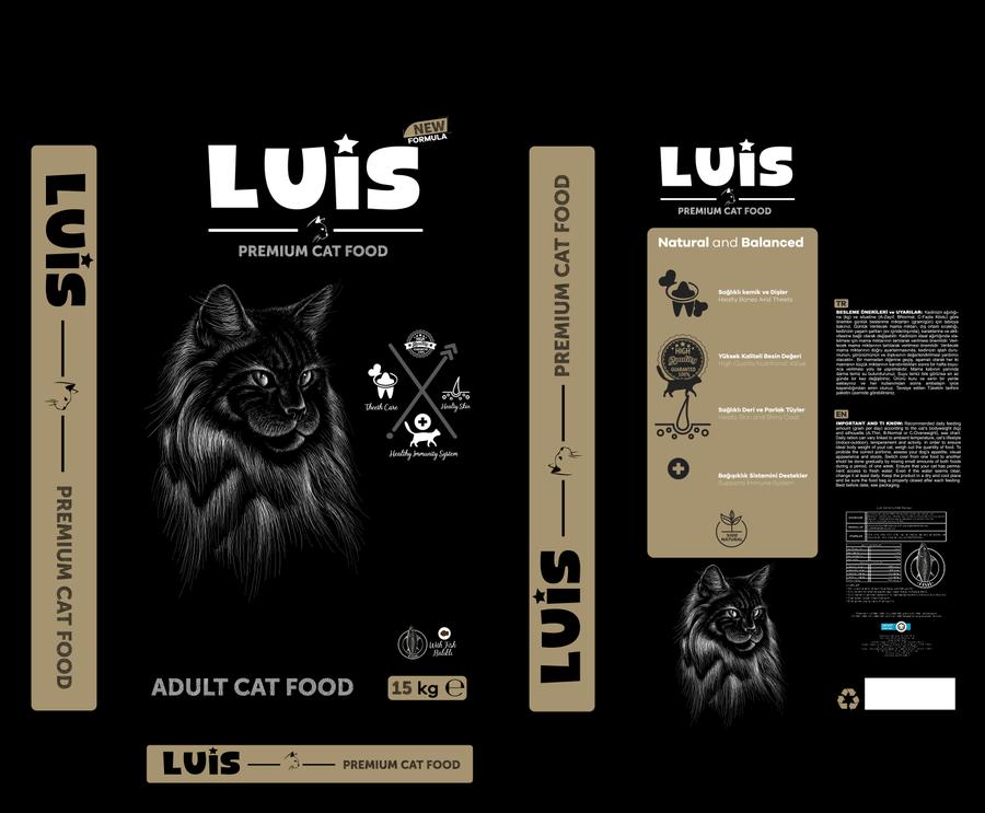 Luis Balıklı Kedi Maması 15 KG