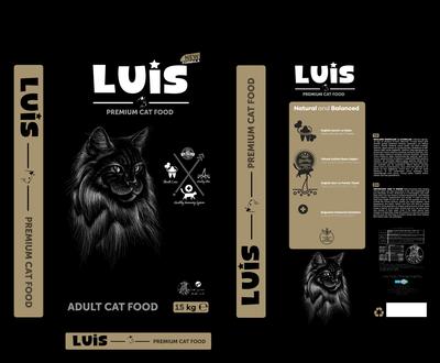 Luis Renkli Taneli Tavuklu Kedi Maması 15 KG