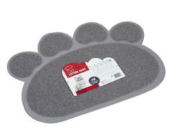 M Pets - M-Pets Pati Şeklinde Kedi Tuvalet Paspası - 60*45 CM