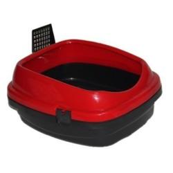 Flip - Markamama Açık Kedi Tuvaleti Plus + Kum Küreği HEDİYELİ