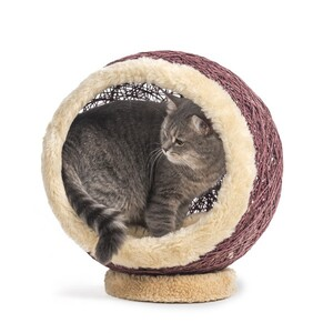 Markamama Küre Şeklinde Kedi Evi 45 CM Lacivert - Thumbnail