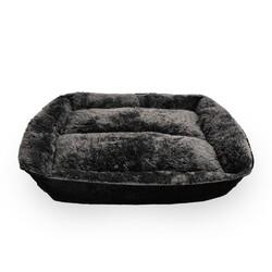 Markamama Peluş Tüylü Köpek Yatağı L 90x70 CM - Thumbnail