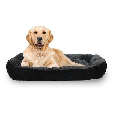 Markamama Peluş Tüylü Köpek Yatağı L 90x70 CM