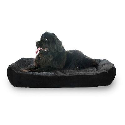Markamama Peluş Tüylü Köpek Yatağı XL 115x90 CM
