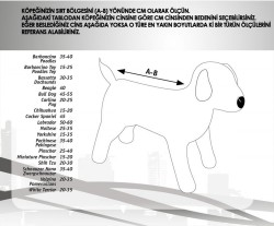 Flip - Markamama Reflektörlü Köpek Montu 80cm