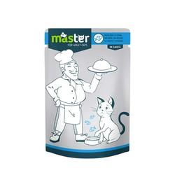 Master - Master Balıklı Pouch Kedi Konserve Maması 80 Gr