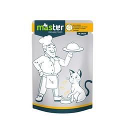 Master - Master Tavuk Etli Pouch Kedi Konserve Maması 80 Gr