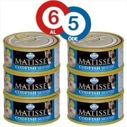 Matisse - Matisse Morina Balıklı Kedi Konserevsi 85 Gr * 6 ADET