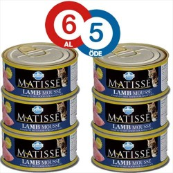 Matisse - Matisse Kuzu Etli Kedi Konservesi 85 GR (6 AL 5 ÖDE)