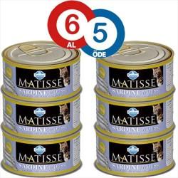 Matisse - Matisse Sardalya Balıklı Kedi Konservesi 85 GR (6 AL 5 ÖDE)