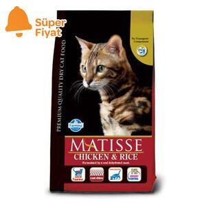 Matisse Tavuklu Pirinçli Kedi Maması 1,5 KG - Thumbnail