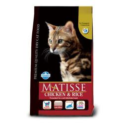 Matisse - Matisse Tavuklu Pirinçli Kedi Maması 10 KG