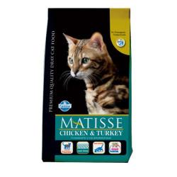 Matisse - Matisse Tavuklu ve Hindili Kedi Maması 10 KG