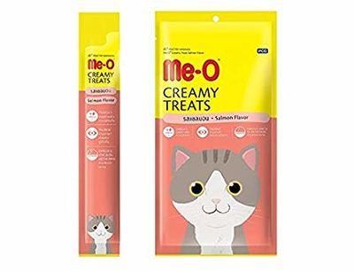 Me-O Tahılsız Somonlu Kremalı Kedi Ödülü 4*15 GR