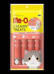 Me-O - Me-O Tahılsız Somonlu Kremalı Kedi Ödülü 4 x 15 GR