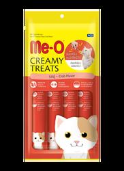 Me-O Tahılsız Yengeç Etli Kremalı Kedi Ödülü 4*15 GR - Thumbnail