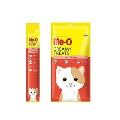 Me-O Tahılsız Yengeç Etli Kremalı Kedi Ödülü 4*15 GR